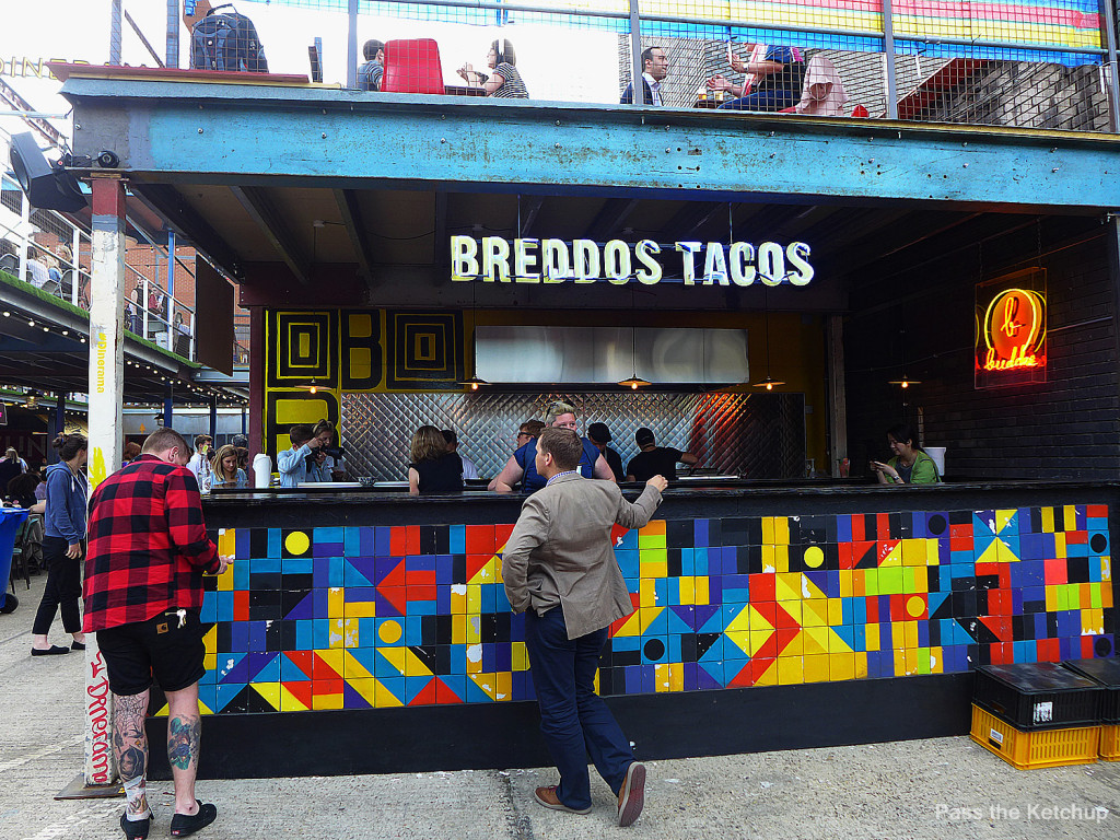 Breddos Tacos Dinerama Shoreditch