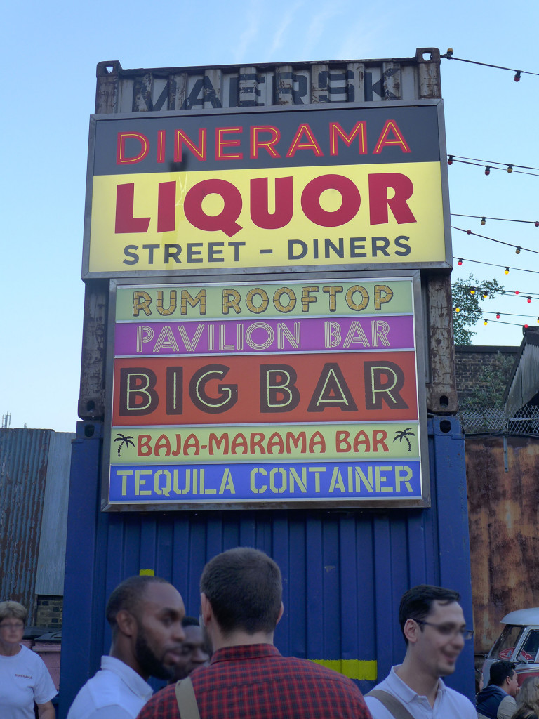 Dinerama Shoreditch Neon Signage