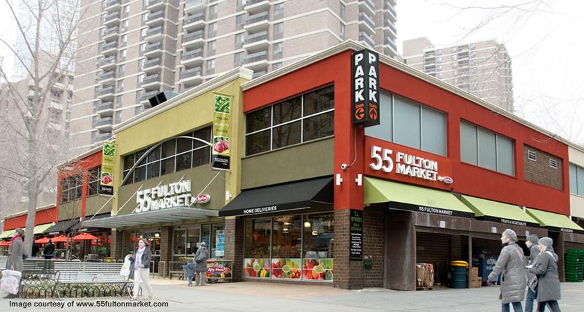 55 Fulton Market exterior