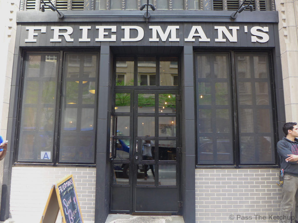 Friedmans Midtown NYC