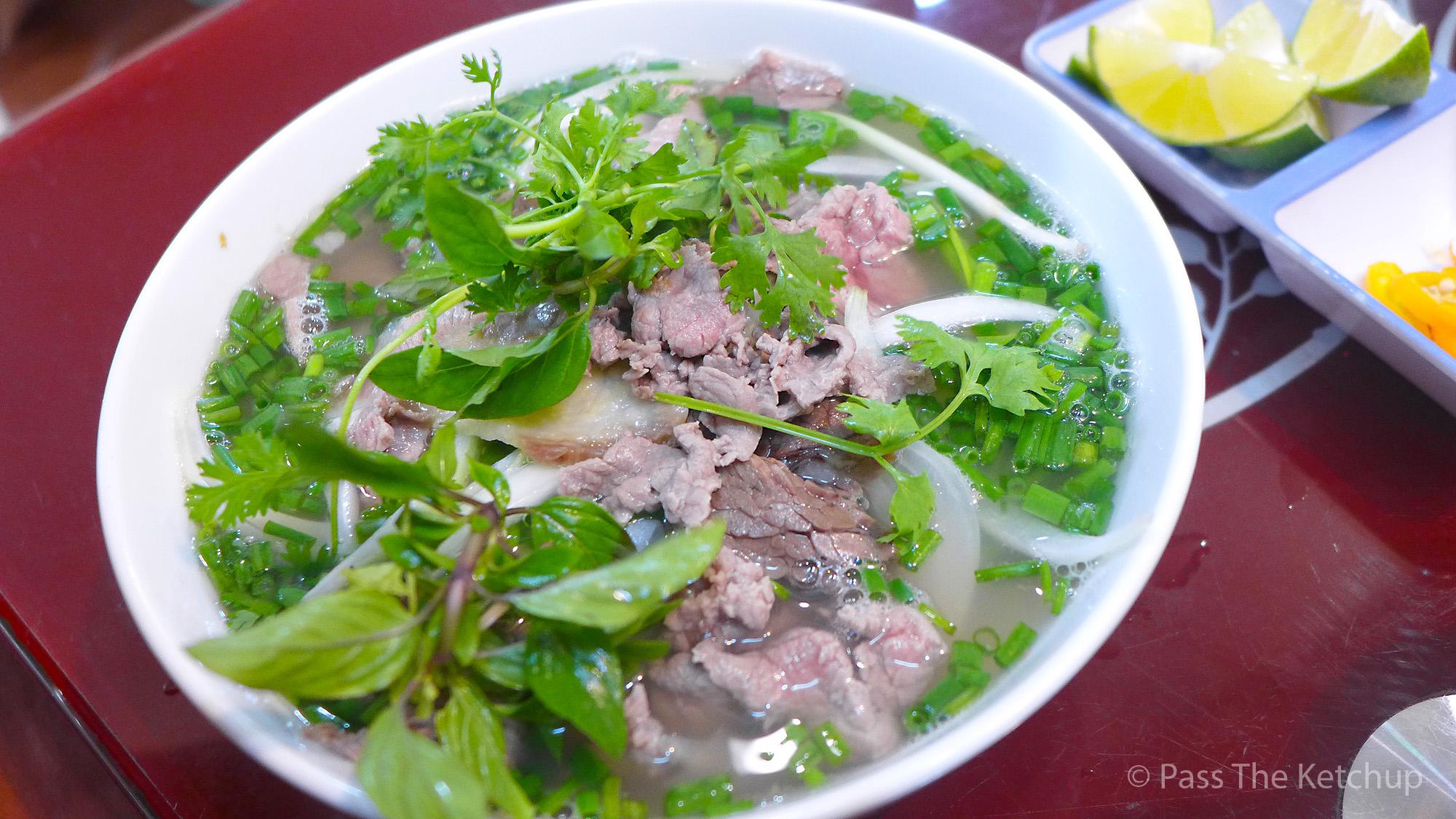 beef pho vietnam